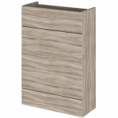 Hudson Reed Fusion Compact WC Unit 600mm Wide - Driftwood