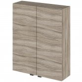 Hudson Reed Fitted Wall Unit 500mm Wide - Driftwood