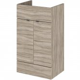 Hudson Reed Fitted Vanity Unit 500mm Wide - Driftwood