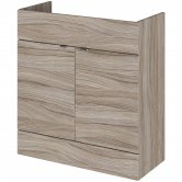 Hudson Reed Fusion Vanity Unit 800mm Wide - Driftwood