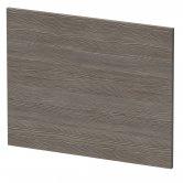 Hudson Reed MFC Shower Bath End Panel 540mm H x 700mm W - Brown Grey Avola