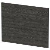 Hudson Reed MFC Shower Bath End Panel 540mm H x 700mm W - Hacienda Black