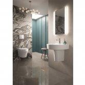 Hudson Reed Glamour Bathroom Mirror 700mm H x 500mm W