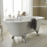 Hudson Reed Grosvenor Freestanding Bath, 1700mm x 745mm, Corbel Leg Set