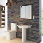 Hudson Reed Maya Bathroom Suite 650mm Wide Basin