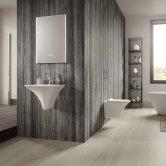 Hudson Reed Reverie Bathroom Mirror 700mm H x 500mm W