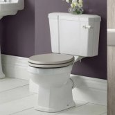 Hudson Reed Richmond Comfort Height Close Coupled Toilet with Cistern - Excluding Seat