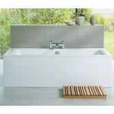 Ideal Standard Concept Double Ended Rectangular Bath 1700mm x 750mm 0 Tap Hole White