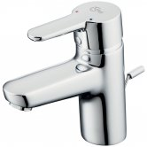 Ideal Standard Concept Blue Single Lever Basin Mixer Tap with Pop Up Waste Chrome