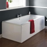 Ideal Standard Tempo Cube Double Ended Rectangular Bath 1800mm X 800mm 0 Tap Hole