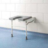 Impey Fold-Down Horseshoe Padded Shower Seat