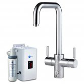 InSinkErator 4N1 U Shape Kitchen Sink Mixer Tap with Neo Tank and Filter - Chrome