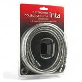 Inta 1.5m Hose Blister Pack - Chrome