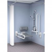 Inta Doc M Elderly or Disabled Shower Room Pack White