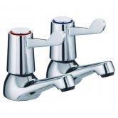 JTP Astra Lever Basin Taps, Pair, Chrome