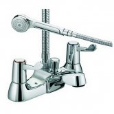 JTP Astra Lever Bath Shower Mixer Tap Deck Mounted - Chrome
