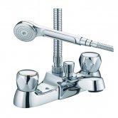 JTP Astra Bath Shower Mixer Tap Deck Mounted - Chrome