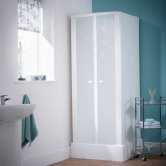 Kinedo Consort Shower Cubicle Enclosure 800mm x 800mm Self Contained
