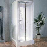 Kinedo Consort Shower Cubicle Enclosure 700mm x 700mm Self-Contained