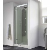 Kinedo Horizon Recessed Thermo Shower Cubicle 800mm x 800mm with Pivot Door