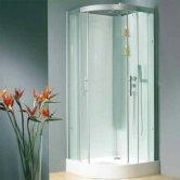 Kinedo Horizon Quadrant Shower Cubicle Enclosure 900mm x 900mm - Sliding Door