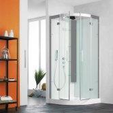 Kinedo Horizon Quadrant Shower Cubicle 900mm x 900mm with Pivot Door