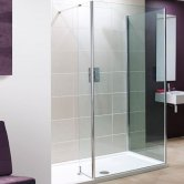Lakes Coastline Andora Walk-In Shower Front Panel 2000mm H x 750mm W - 8mm Glass