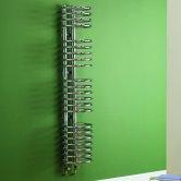 MaxHeat Denver Designer Radiator 1142mm H x 300mm W Chrome