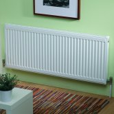 MaxHeat MaxRad Compact Radiator 300mm H x 400mm W Single Convector