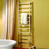 MaxHeat Newbury Heated Towel Rail 1800mm H x 350mm W Polished Stainless Steel