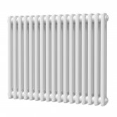MaxHeat Octavius 2 Column Horizontal Radiator 600mm H x 768mm W - White