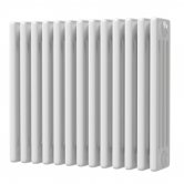 MaxHeat Octavius 4 Column Horizontal Radiator 500mm H x 592mm W - White