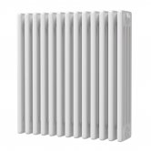 MaxHeat Octavius 4 Column Horizontal Radiator 600mm H x 592mm W - White