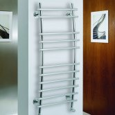 MaxHeat Phoenix Designer Heated Towel Rail 1150mm H x 500mm W Chrome