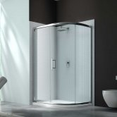 Merlyn 6 Series Single Offset Quadrant Shower Enclosure 1000mm x 800mm - Clear Glass