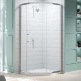 Merlyn 8 Series Single Quadrant Shower Enclosure 900mm x 900mm - Clear Glass