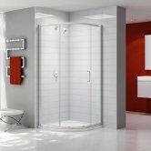 Merlyn Ionic Express Quadrant Single Shower Enclosure, 900mm, 6mm Glass