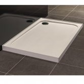 Merlyn Ionic Touchstone Square Shower Tray, 800mm x 800mm, 4 Upstand