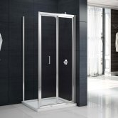 Merlyn Mbox Bi-Fold Shower Door 760mm - 4mm Clear Glass