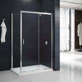 Merlyn Mbox Loft Sliding Shower Door 1200mm Wide - 6mm Clear Glass