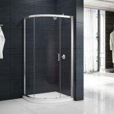 Merlyn Mbox Single Quadrant Shower Enclosure 1000mm x 1000mm - 6mm Glass