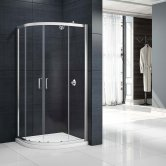 Merlyn Mbox Loft Double Quadrant Shower Enclosure 800mm x 800mm - 6mm Glass