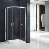 Merlyn Mbox Loft Double Quadrant Shower Enclosure 900mm x 900mm - 6mm Glass