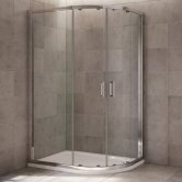 Mira Leap Offset Quadrant Shower Enclosure, 1000mm x 800mm, 6mm Glass
