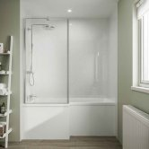 Multipanel Classic Unlipped Wall Panel 2400mm H x 598mm W - White Snow
