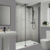 Multipanel Classic Unlipped Wall Panel 2400mm H x 598mm W - Arctic Stone