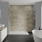 Multipanel Classic Unlipped Wall Panel 2400mm H x 598mm W - Antique Marble