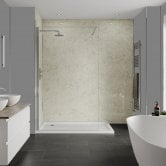 Multipanel Classic Unlipped Wall Panel 2400mm H x 598mm W - Grey Marble