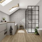 Multipanel Neutrals Unlipped Wall Panel 2400mm H x 598mm W - Pebble Grey