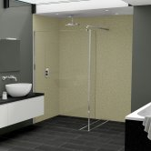 Nuance Finishing Postformed Wall Panel 2420mm H X 160mm W Petra - Gloss